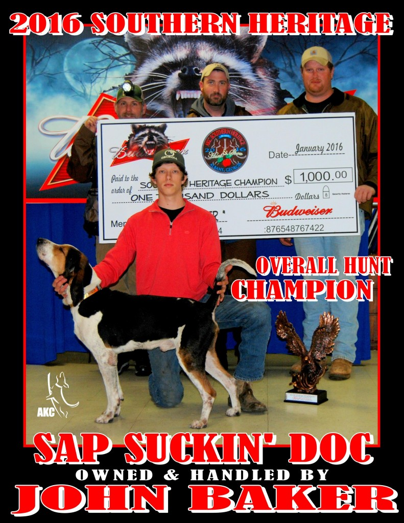SH Hunt Champ Photo
